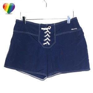 Nautica Blue Swim Board Shorts A090543